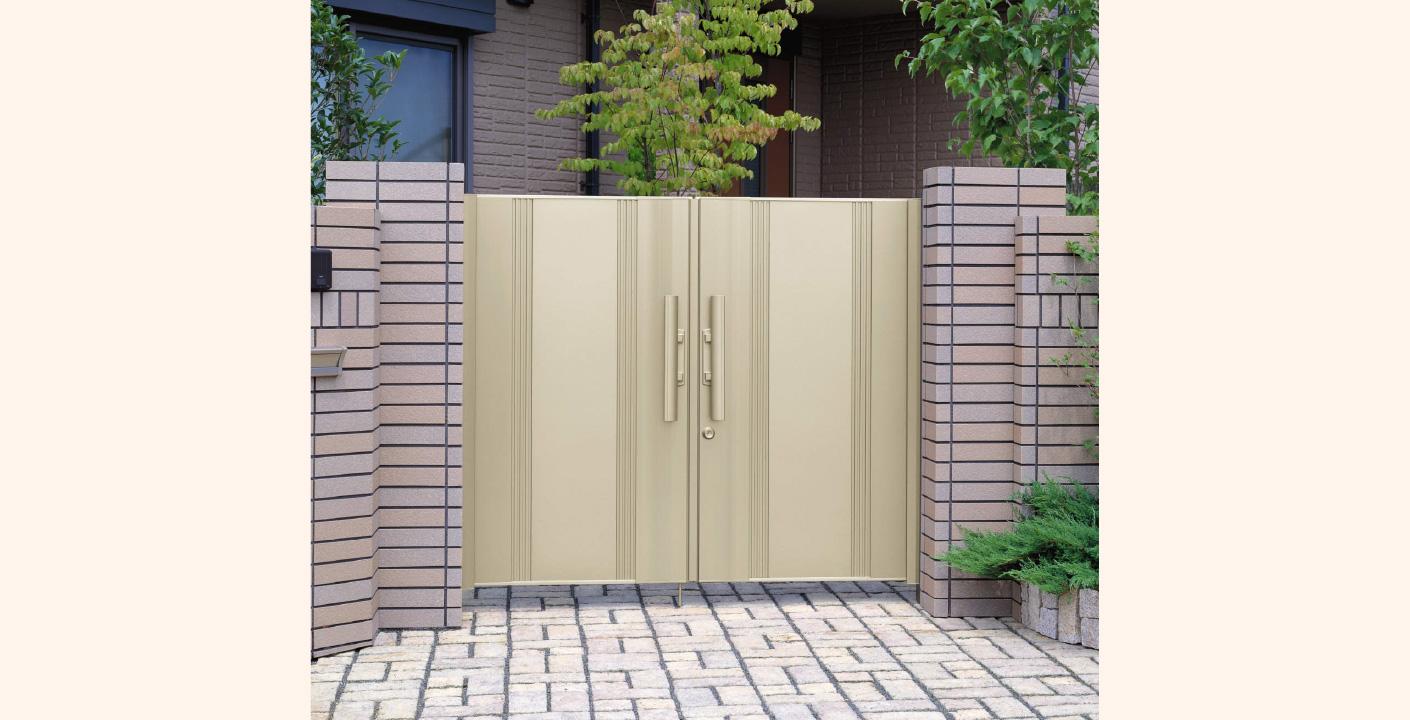 門扉の設置
