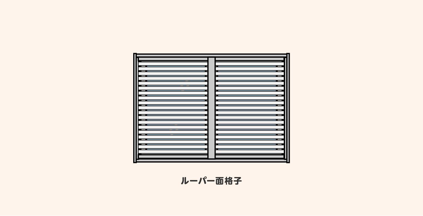 窓格子の設置