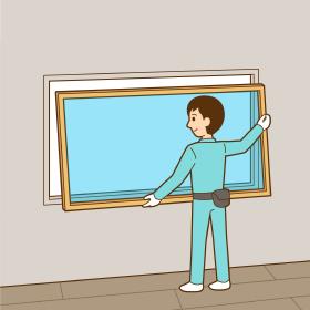 窓の取り替え<br /> (カバー工法)